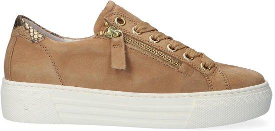 Gabor 465 Sneakers – Leren Sneaker – Dames – Beige – Maat 43