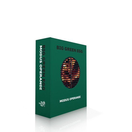 Boek cover BIG GREEN EGG - Modus Operandi van Michèl Lambermon (Hardcover)