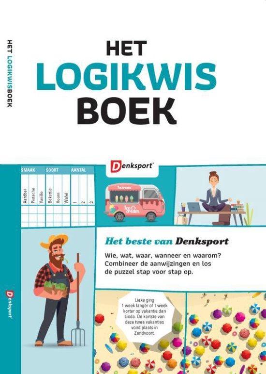 Afbeelding van Denksport - Het Logikwis boek