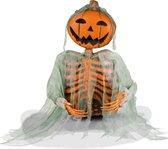 BOLAND - Pompoen skelet decoratie - Decoratie > Decoratie beeldjes