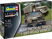 M34 Tactical Truck & Jeep Revell schaal 135