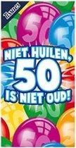 Tissues Niet huilen, 50 is niet oud!