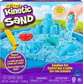 Kinetic Sand Speelzandbak Junior 28 X 28 X 6 Cm Blauw 6-delig