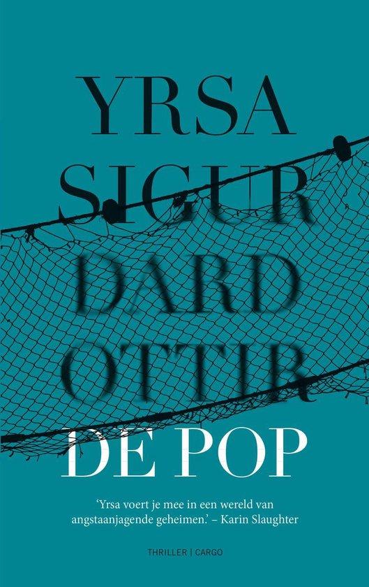 Boek cover De pop van Yrsa Sigurdardottir (Onbekend)