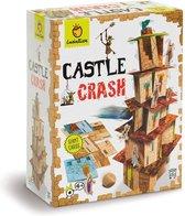 Ludattica Spellen: CASTLE CRASH 27x21x10cm, 114 kaarten en houten dobbelsteen,  4+