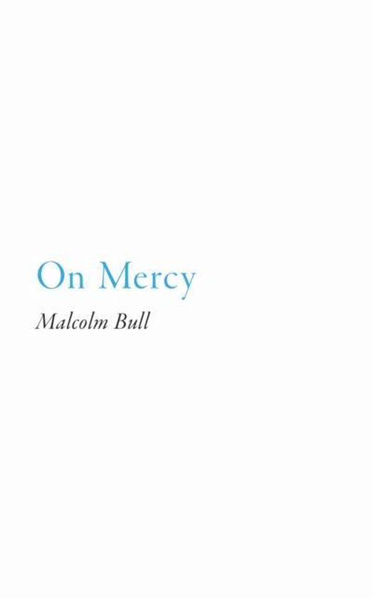 Boek cover On Mercy van Malcolm Bull (Paperback)