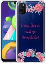 Samsung Galaxy M21 Hoesje Every Flower