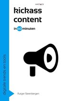 Digitale trends en tools in 60 minuten 21 -   Kickass content in 60 minuten