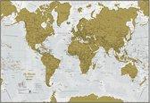 Kras de Wereld® - Franse uitvoering met luxe afwerking - Maps International