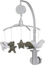 Baby's Only Muziekmobiel khaki/zilvergrijs