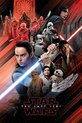 Star Wars The Last Jedi Red Montage Maxi Poster
