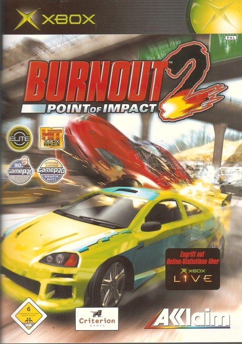 Burnout 2 - Point Of Impact - Acclaim