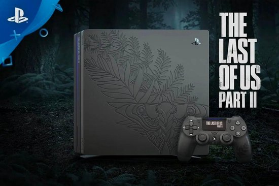 Sony PlayStation 4 Pro console 1TB + The Last of Us 2 - Limited Edition