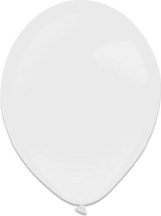 Amscan Ballonen 13 Cm Latex Wit 100 Stuks