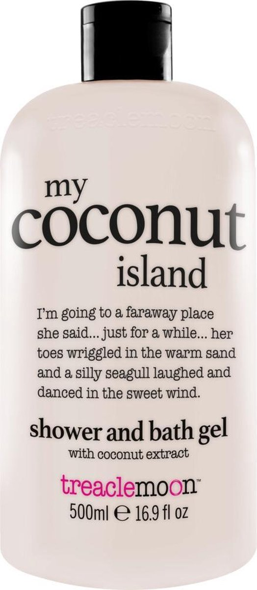Bol Com Treaclemoon Bad En Douchegel My Coconut Island 3x500 Ml Voordeelverpakking