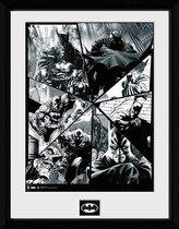 BATMAN COMIC - Collector Print 30X40 - Collage