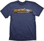 HEARTHSTONE - T-Shirt Logo Navy (L)