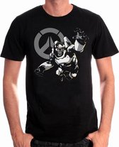 OVERWATCH - T-Shirt Humanity's Champion (L)