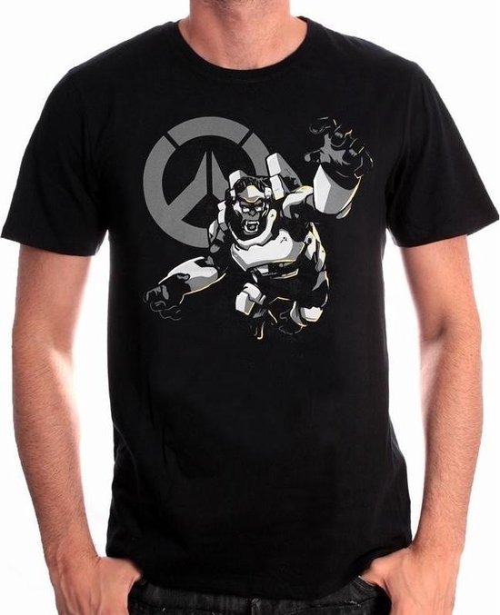 OVERWATCH - T-Shirt Humanity's Champion (L)