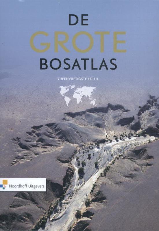 Boek cover Atlas | Grote Bosatlas - 55e editie van Diverse auteurs (Paperback)