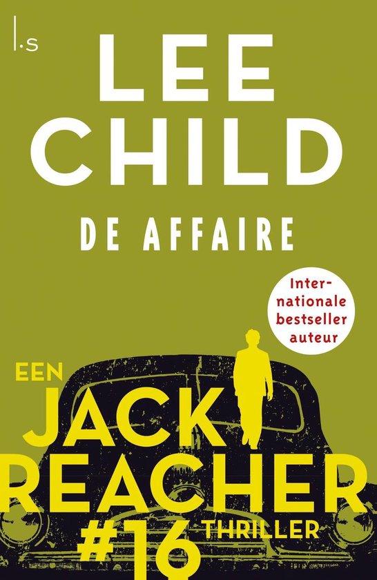 Omslag van Jack Reacher 16 - De affaire