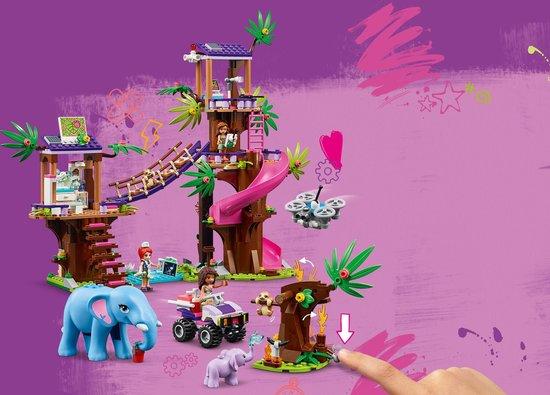 LEGO Friends Jungle Reddingsbasis - 41424
