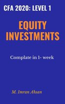 Equity Investment for CFA level 1, 2020