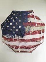Y Not paraplu opvouwbaar manueel supermini paint flag USA 55364