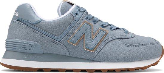 bol.com | New Balance - Dames Sneakers WL574CVC - Blauw ...