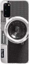 Samsung Galaxy S20 hoesje Camera Casetastic Smartphone Hoesje softcover case