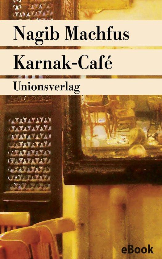 Boek cover Karnak-Café van Nagib Machfus (Onbekend)