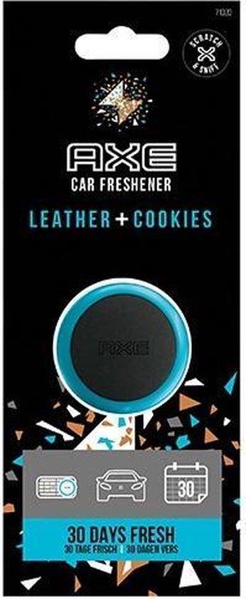 Axe Luchtverfrisser Mini Vent Leather + Cookies 3 Cm Zwart