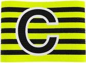 Stanno Aanvoerdersband verstelbaar Aanvoerdersband - Zwart - Maat JR
