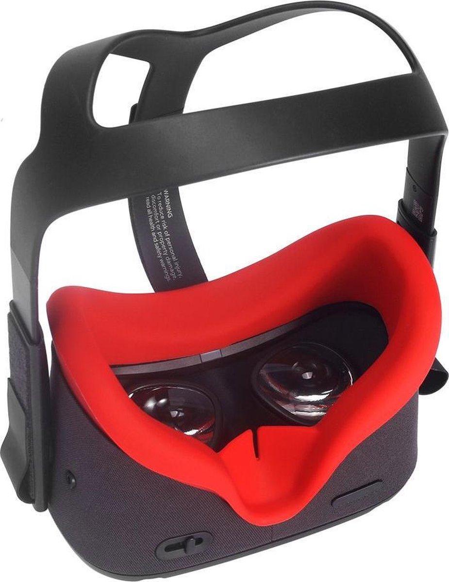 Siliconen Gezichtsmasker voor Oculus Quest (rood) kopen