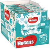 10x Huggies Billendoekjes All Over Clean 56 doekjes