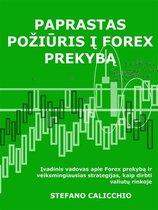 Paprastas požiūris į forex prekybą