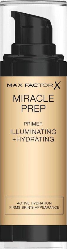 Max Factor Miracle Prep Primer- Illuminating & Hydrating