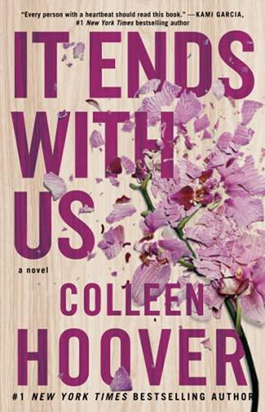 Boek cover It Ends With Us van Colleen Hoover (Paperback)
