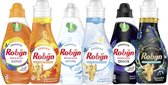 Robijn Kleur, Wit en Zwart Wasmiddel en Wasverzachter - 2 x 30 en 3 x 20 wasbeurten - Voordeelverpakking