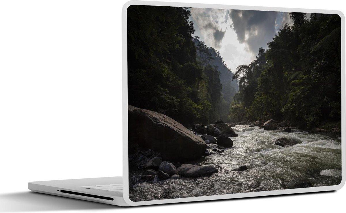 Laptop sticker - 12.3 inch - Bohorokrivier bij Nationale Park van Gunung Leuser in het Aziatische Indonesië