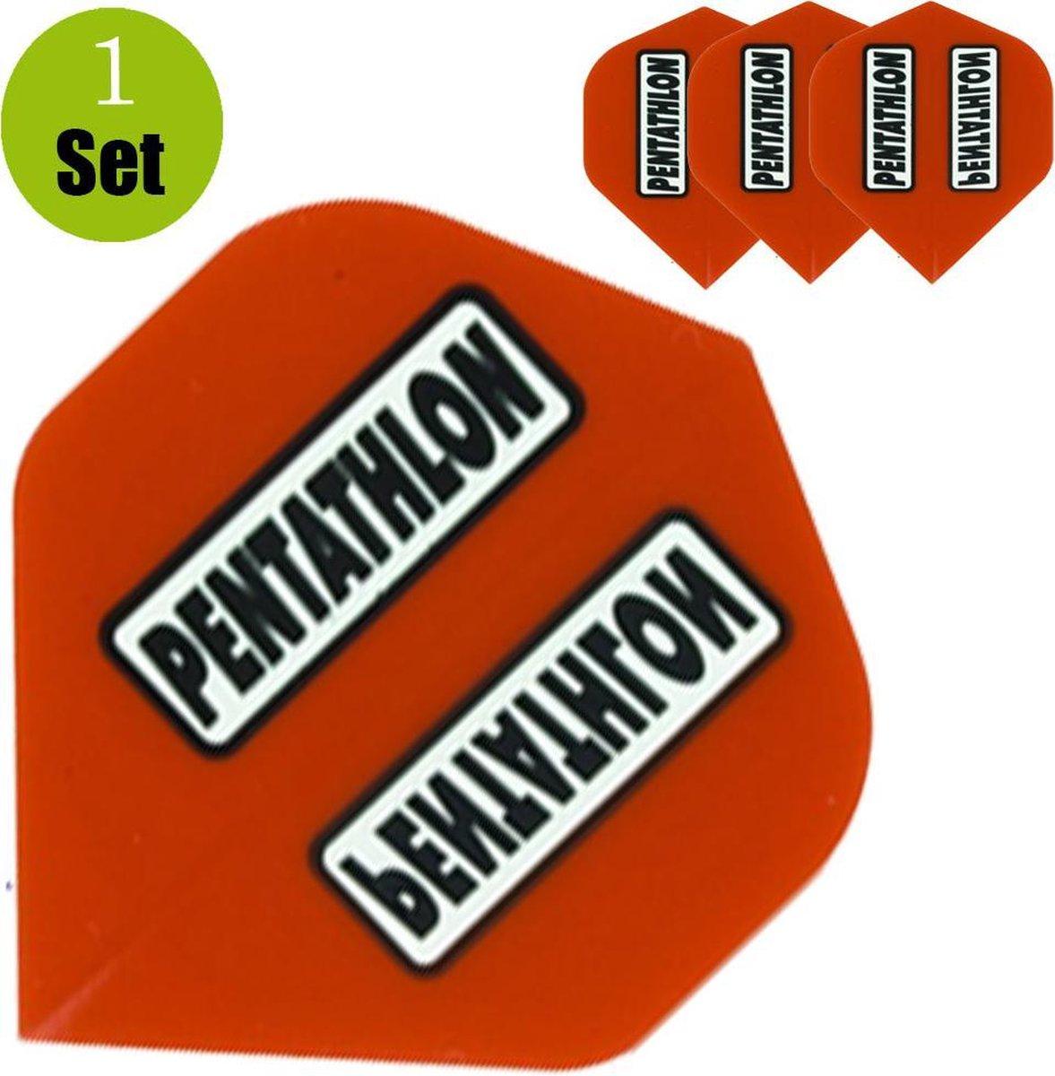 Pentathlon Dartflights - Rood- ()