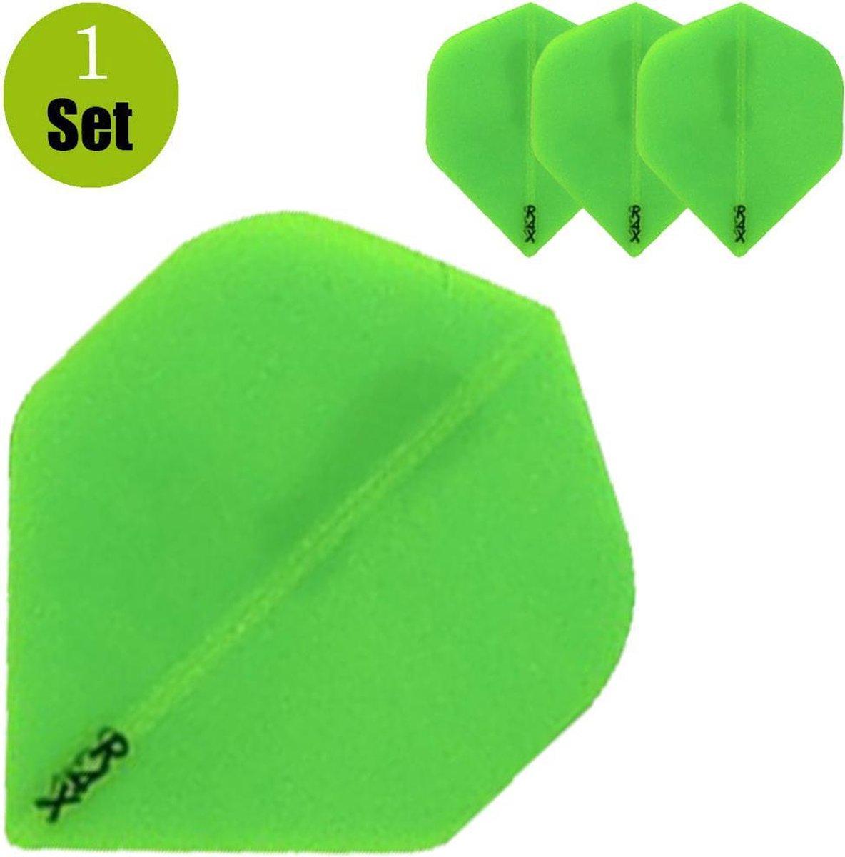 Ruthless Transparant Dartflights - Groen- ()
