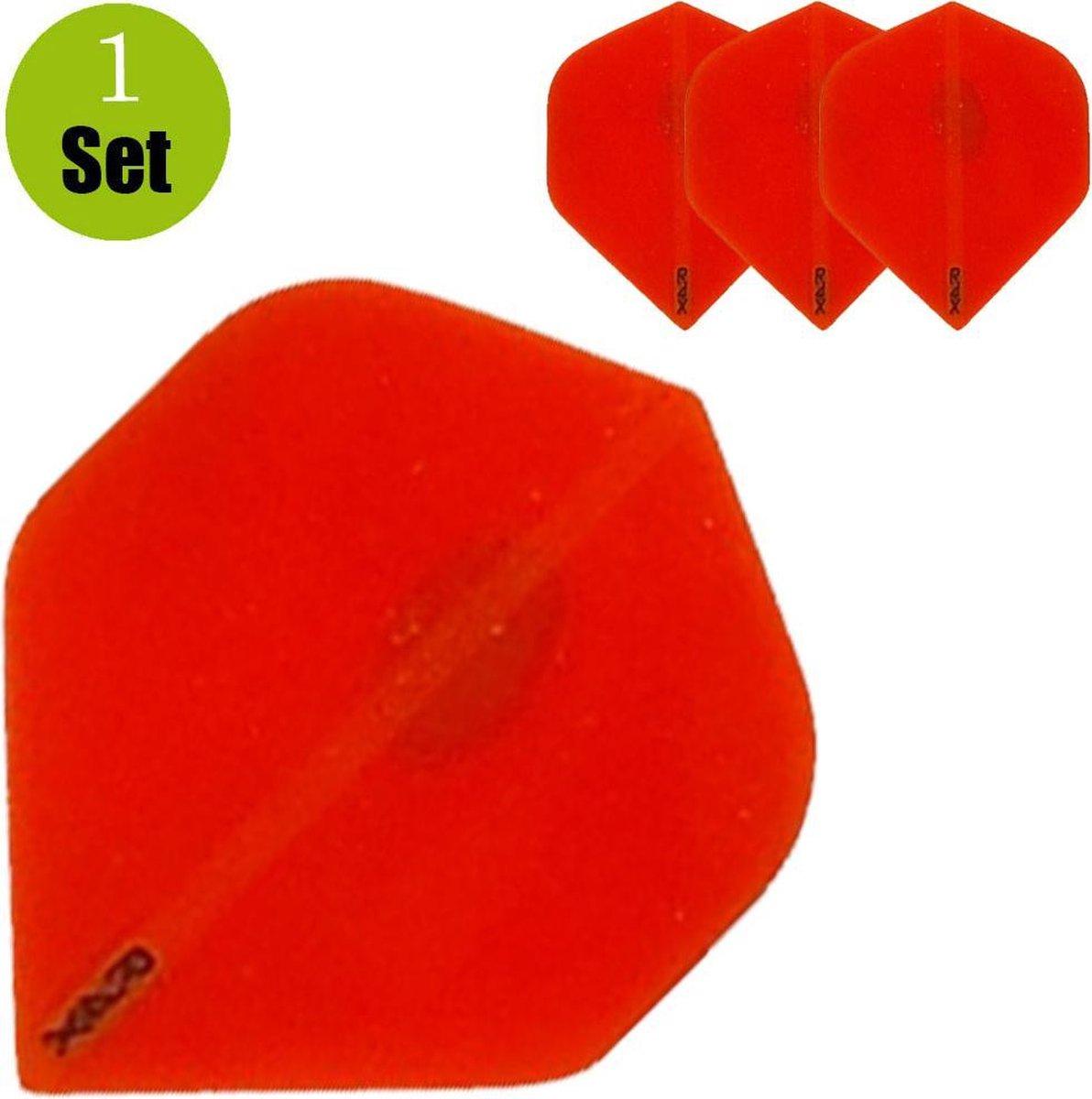 Ruthless Transparant Dartflights - Oranje- ()