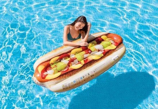 Intex Hotdog Opblaasbaar: 180x89 cm