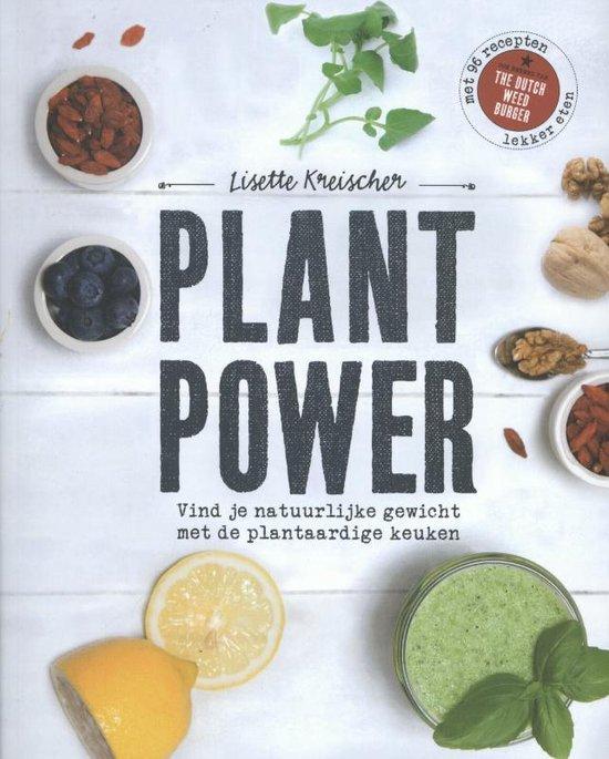 Boek cover Plant power van Lisette Kreischer (Paperback)
