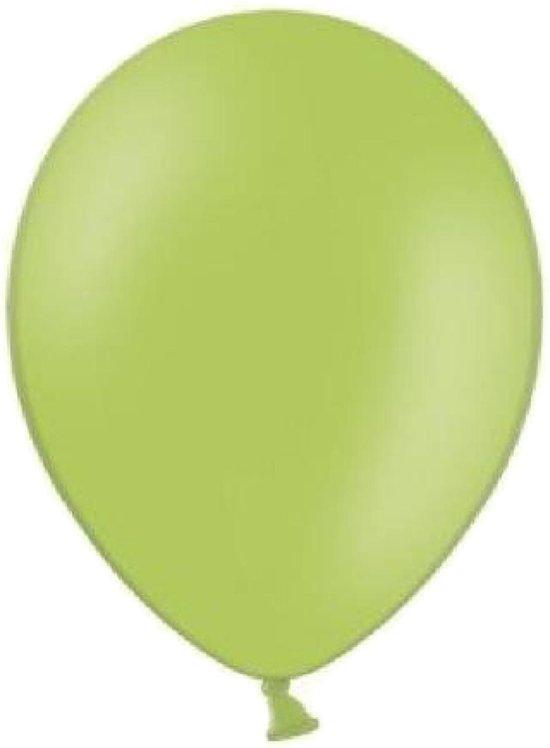 Belbal - Ballonnen - Limegroen - 100st.