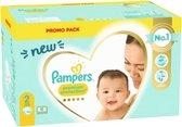 Pampers Premium Protection Luiers Maat 2 (4-8 kg) 120 stuks