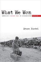 Boek cover What We Won van Bruce Riedel