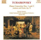 Tchaikovsky: Piano Conc. 1&3