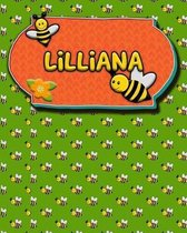 Handwriting Practice 120 Page Honey Bee Book Lilliana